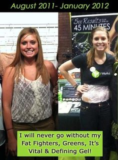 The BEFORE and AFTER pictures say it all! The It Works! ultimate Body Applicator is a body wrap that uses a botanically based cream formula to tighten, tone, and firm trouble areas in as little as 45 minutes. Sign up as a Loyal Customer today to get 45% discount on all It Works! products for life! www.flab2fabwithfelicia.com  To see more before & after pics go to www.facebook.com/flab2fabwithfelicia