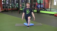 Fusion Home Fitness: Half Kneeling Position
