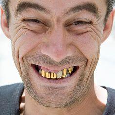 Portrait Tajikistan | Smiling and showing gold teeth | Olivier Galibert | Flickr