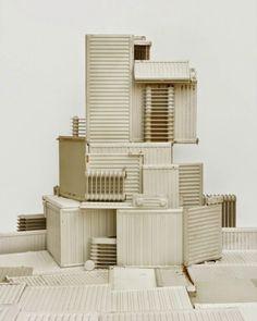 Vincent Skoglund creates sculptural installations with rubbish from landfills.                                          Gloucestershire Resource Centre http://www.grcltd.org/scrapstore/