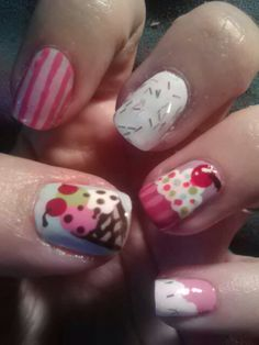deliciously sweet summer mani!!!