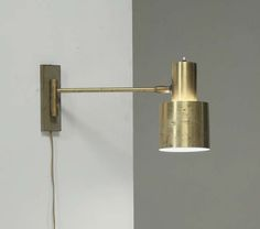 Full Brass Jo Hammerborg Wall Spotlight For Fog & Morup