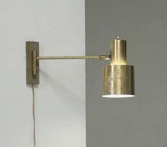 Full Brass Jo Hammerborg Wall Spotlight For Fog & Morup