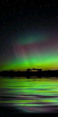 Aurora boreal en Escocia