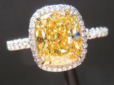 My precious...yellow diamond