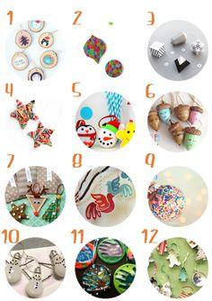 DIY Navidad: 54 manualidades para niños #unamamanovata #diy #Navidad #niños ▲▲▲ www.unamamanovata.com ▲▲▲