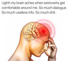 That feel when your brain hurts