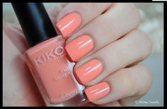 Kiko Make Up Milano '359 Light Peach' Nail Lacquer