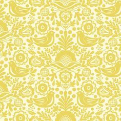 The Henley Studio - Modern Folkloric - Silhouette in Yellow