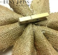 how to easily make a burlap poinsettia, crafts, gardening, how to