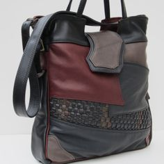 LEATHER TOTE BAG   Random Acts Of Scrappy #purses #bags #leatherbags #handbags
