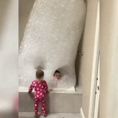 Bubble bath level: over 9000