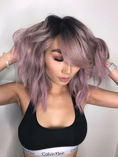 Shop Flawless Additions for our best luxury hair extensions. We sell sew in hai… Shop Flawless Additions for our best luxury hair extensions. We sell sew in hair, and mink lashes. Lavender Hair, Lilac Hair, Blue Hair, Light Purple Hair, Gray Hair, White Hair, Ombre Hair Color, Hair Color Balayage, Pastel Hair Colors