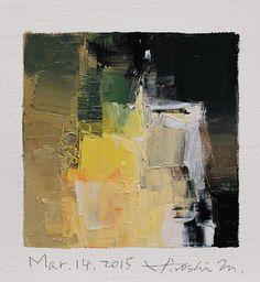 Mar. 14 2015 Original Abstract Oil Painting di hiroshimatsumoto                                                                                                                                                                                 More