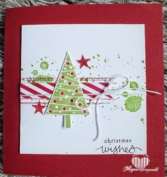 Christmas wishes, festival of trees Stampin' Up!