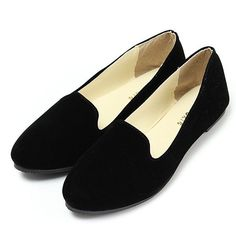 Brand: NoDescription: Shoe Type: Flat Shoes Toe Type:Round Toe Closure Type: Slip On Heel Type:Flat Heel Height: About 1.5 cm Gender: Female Occasion: CasualSeason: Spring Sumemr Autumn Color: Black W
