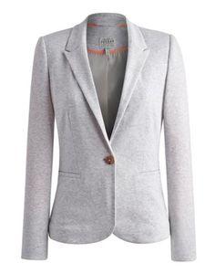 Mollie Grey Marl Soft Jersey Blazer | street style | Pinterest ...