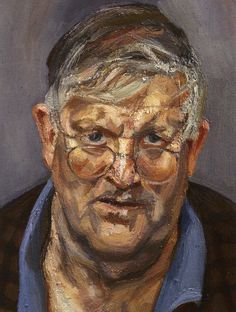 Lucien Freud - Hockney