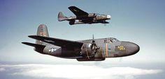 Douglas P-70 Havoc 481st Night fighter Operational training Group Orlando Florida 1943