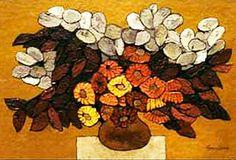 Oswaldo Guayasamin, Floras secas, 1990