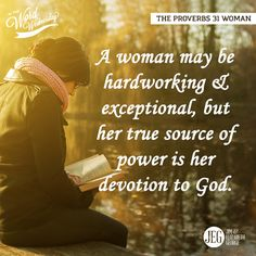 """The Proverbs 31 Woman—The last chapter of Proverbs begins with a young prince being told by his mother what should characterize his reign as a godly king. Then this godly and wise mother gives the description of the kind of woman this young prince should look for in an excellent wife. The question is asked, """"An excellent wife, who can find?"""" She does exist, but she is very hard to find! #IntheWordWednesday"""