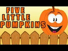 Halloween Songs for Children -- Five Little Pumpkins - Kids Song by The Learning Station