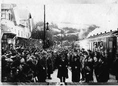 Наш Вишеград : ДОЛАЗАК ПРВОГ ВОЗА У ВИШЕГРАД ИЗ УЖИЦА 1925. – Вишеградске вијести