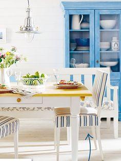El encanto de los muebles pintados