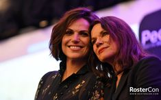 Lana & Barbara The Happy Ending Convention Day 2 Barbara Hershey, Tv Moms, Ouat Cast, Time Pictures, Swan Queen, Outlaw Queen, Mom Daughter, Happy Endings, Beautiful Actresses