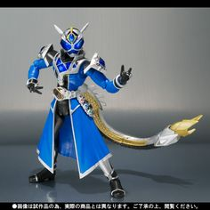 S.H. FiguArts Kamen Rider Wizard Water Dragon Official Images