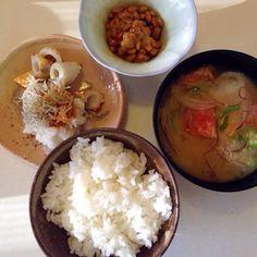 魚が入ってないのでもどきですが - 70件のもぐもぐ - 冷や汁な朝   by sasachanko
