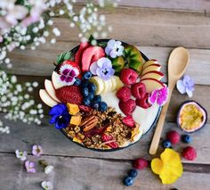 making your own granola is so easy and quick once you get the basics sorted. I had this granola in the oven in 5 minutes, and the best bit is you can throw whatever you like in. What annoys m...