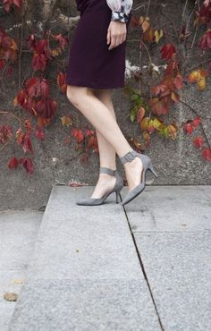 I love these versatile Liz Claiborne hydie suede pumps.  I can wear them from day to night