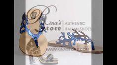 Baldinini Sandals – Women's Italian Shoes at Rina's Boutique Blue Sandals, Suede Sandals, Italian Shoes, Blue Suede, Shoe Collection, Girls Shoes, Designer Shoes, Boutique, Cute