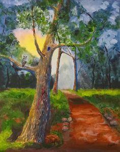 Fine Art By Caron: Nature's Door