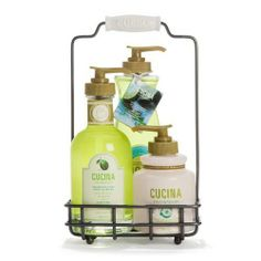 Fruits and Passion's Cucina Trio Gift Set - Lime Zest and Cypress by Cucina. $35.00