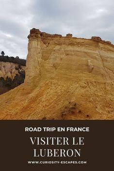 Séjour dans le Luberon   Curiosity Escapes Road Trip France, Monument Valley, Curiosity, Nature, Travel, Blog, History Websites, Wayfarer, Naturaleza