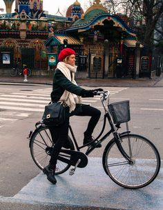 Welcome to the original Cycle Chic. Streetstyle, bicycle advocacy on high heels, style over speed. Dutch Bike, Cycle Chic, Baby Strollers, Cycling, Bicycle, Dressing, Women, Style, Baby Prams