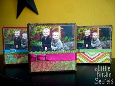 Block wood or tile portraits....easy to make...great gift ideas!!!