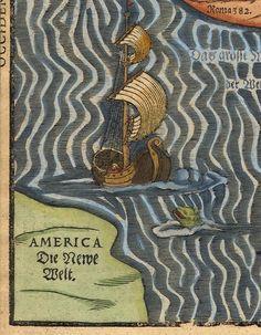 """Так описал мир Heinrich Bünting в своей книге """"Itinerarium Sacrae Scripturae"""" (1581 г.)."""