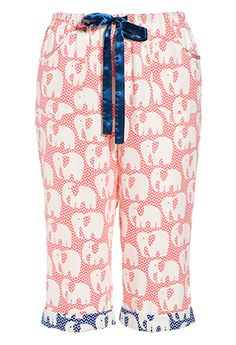 Elephant Roll Up Pj Pant from Peter Alexander