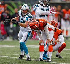Mike Nugent laments a missed fg, resulted in tie w Carolina 10-12-14