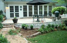 #brick #landscape #fireplace #vinings #GA