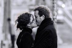 «Reden Sie über Sex» Es hat mit Verbindlichkeit zu tun: Ein Paar küsst sich auf der Strasse. In der eigenen Beziehung Wichtiges angehen Wie definieren Paare Treue – und wo beginnt die Untreue, das Fremdgehen?