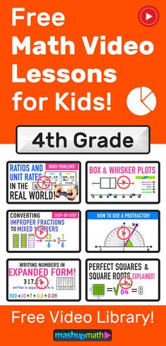 Grades 4-6 Videos (2020) — Mashup Math