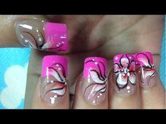 Simple Easy Nail Art Paint Ideas   Pretty Cute Nail Art Designs (part 16... Cute Nail Art Designs, Beautiful Nail Designs, Paintings Famous, Art Paintings, Dope Nails, Flower Nails, Easy Nail Art, Pretty And Cute, Nail Arts
