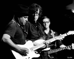Guthrie Trapp, Kenny Vaughan, JT Cure.  @ Music City Roots, 8-1-12, by Anthony Scarlati