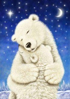 Christmas Paintings, Christmas Art, Calin Gif, Teddy Bear Pictures, Love Bear, Tatty Teddy, Bear Art, Cute Illustration, Animal Paintings