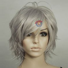 Image result for shag haircuts for grey hair