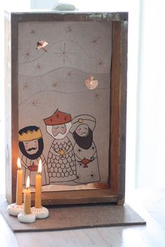 French Christmas, Felt Christmas, Christmas Carol, Christmas Crafts, Christmas Decorations, Happy Three Kings Day, Christmas Stage Design, Popular Christmas Songs, Charity Christmas Cards